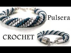 Beaded Crochet Rope Tutorial, 3 Techniques. Part 1/3 ENGLISH SUBTITLES (Activate Caption) - YouTube