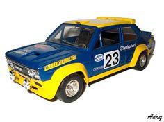 "Modellismo statico: Fiat 131 Abarth ""Olio Fiat"" N. 23"
