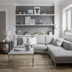Inspiring Scandinavian Living Room Design Ideas The living room is only one of the rooms in the house that's always under careful scrutiny and in major renovations nearly every year or two. Although your living room is not as spacious, it … Cozy Living Rooms, Living Room Grey, Living Room Modern, Home Living Room, Apartment Living, Living Room Interior, Living Room Designs, Minimal Living, Condo Living