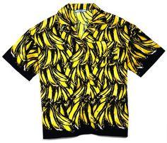 prada 2011 banana print shirt