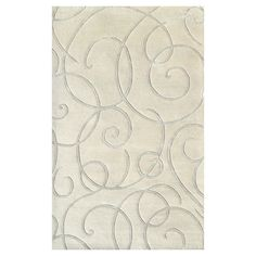 I pinned this Barney Rug in Ivory & Gray from the Classic Updates event at Joss and Main!