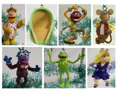 The Muppets Christmas Ornament Set