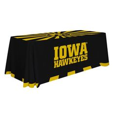 Iowa Hawkeyes 6' Wordmark Table Throw - $99.99