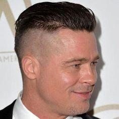Brad Pitt Fury Haircut - Disconnected Undercut