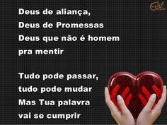 Deus de promessa #EuCreio