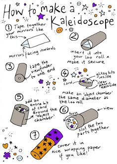 How to make a Kaleidoscope, by Ruth