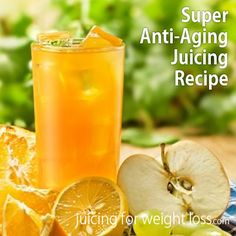 This is one of my favorite #AntiAging #juicing recipes because it tastes great and is packed with #antioxidants and other powerful youth supporting polyphenols.