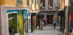 shopping in palma de mallorca: calle quint