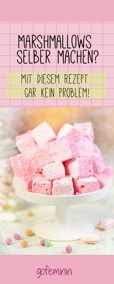Marshmallows selber machen? Hier geht's zum Rezept mit Step by Step-Anleitung!