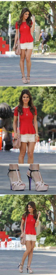 Look do Dia: Romantic Red!   Super Vaidosa