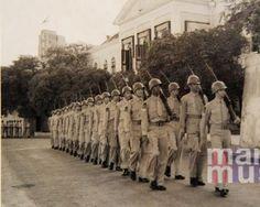 Wisseling van de wacht 1948 - Waterkant Suriname