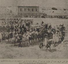 OTTOMAN ARAB SOLDIERS DURING OTTOMAN-ITALY WAR, TRIPOLI, LIBYA, 1911  Osmanlı-İtayla Arasındaki Trablusgarp Savaşında Osmanlı Arap Askerleri, Libya, 1911