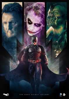 The Dark Knight Trilogy by Rich Davies