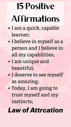 Positive Affirmations Quotes, Self Love Affirmations, Morning Affirmations, Law Of Attraction Affirmations, Affirmation Quotes, Positive Quotes, Self Care Bullet Journal, Spiritual Manifestation, Mental And Emotional Health