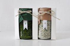 Wild Garlic Pesto & Salt Packaging
