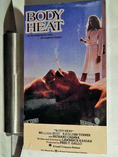 BODY HEAT (1986 THRILLER)  SEALED VHS, KATHLEEN TURNER, WILLIAM HURT, R CRENNA