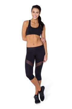 Sheer Back Gym Crop › Black Milk Clothing NEW ONLY PLEASE