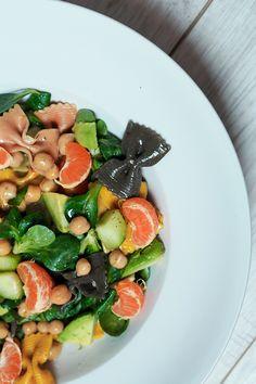 Nudelsalat mit Mandarinen - Berries & Passion