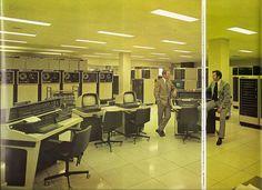 NCR Computer Centre #building #interior #retro