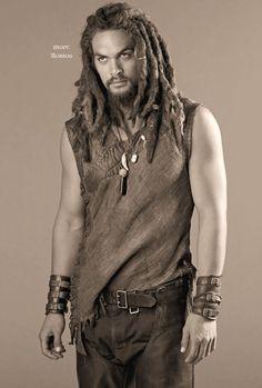 "Jason Momoa as Ronan Dex in ""Stargate Atlantis""."