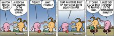 Pearls Before Swine on importance of background knowledge