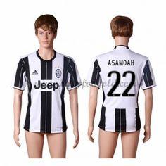 Fodboldtrøjer Series A Juventus 2016-17 Asamoah 22 Hjemmetrøje