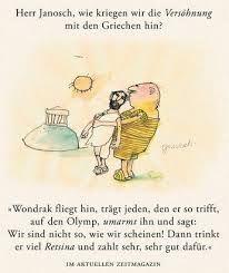 Herr #Janosch, was macht man gegen überstarke Sehnsucht ...