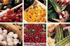 Fresh Italian produce.
