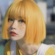 Aesthetic People, Aesthetic Hair, Pretty Hairstyles, Girl Hairstyles, Short Grunge Hair, Photographie Portrait Inspiration, Hair Reference, Polychromos, Ulzzang Girl