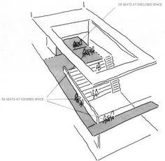 Zoka Zola Architecture + Urban Design - Project - Open-Air Theatre - - G. - Zoka Zola Architecture + Urban Design – Project – Open-Air Theatre – – G… - Section Drawing Architecture, Interior Architecture Drawing, Landscape Architecture Design, Concept Architecture, Open Architecture, Architecture Diagrams, Classical Architecture, Ancient Architecture, Theater Architecture