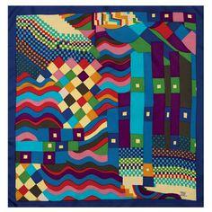 """""""Bauhaus"""", Susan Collier for Liberty scarf 1969"""
