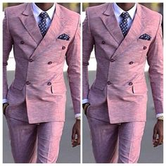 Pink suits for men | www.ScarlettAvery.com