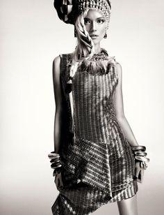 KasiaStrussNumeroGregKadel10 Kasia Struss Dons a Fashion Mix for Numéro #142 by Greg Kadel
