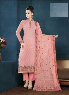 51b434c682 52 best Peach Color Salwar Kameez images in 2017 | Dress suits ...
