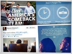 Las elecciones de Estados Unidos en redes sociales