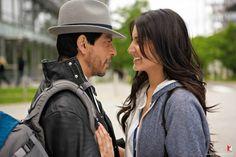 """Shah Rukh Khan and Anushka Sharma in """"Jab Tak Hai Jaan"""" (2012)"""