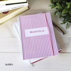 cuadernos personalizados. Regala con corazón!
