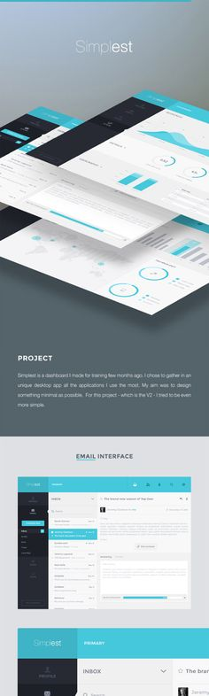 Inspirational Showcase of UI/UX Design Presentations