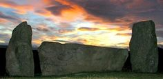 4000 year old recumbent stone circle, Tomnaverie, near Tarland, Aberdeenshire