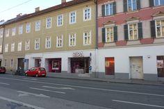 Heinrichstraße 6: Das waren noch Zeiten, als es den Meinl noch gab - hier zum Beispiel. Längst heißt es hier: BI Parfumerie!