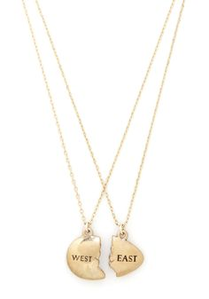 great gatsby east west egg necklace