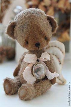 Мишки Тедди ручной работы. Ярмарка Мастеров - ручная работа Амурчик. Handmade.