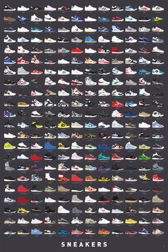 All Nike Shoes, Hype Shoes, Sneakers Nike, Hypebeast Iphone Wallpaper, Nike Wallpaper Iphone, Hype Wallpaper, Jordan Logo Wallpaper, Sneaker Posters, Sneakers Wallpaper