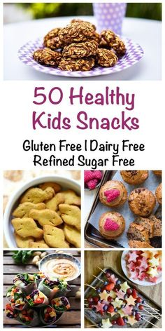 50 Healthy Snacks for Kids (Gluten Free, Dairy Free & Refined Sugar Free) - Love.,Healthy, Many of these healthy H E A L T H Y . 50 Healthy Snacks for Kids (Gluten Free, Dairy Free & Refined Sugar Free) - Love Food Nourish Source by kyade. Sugar Free Snacks, Dairy Free Snacks, Sugar Free Meals, Sugar Free Diet, Dairy Free Recipes For Kids, Sugar Free Recipes, Gluten And Dairy Free Kids, Lactose Free Kids Meals, Gluten Free Recipes Kid Friendly