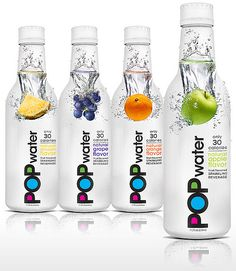 Lady Gaga's POP water #bottle #packaging