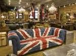 Union Jack sofa in ABC Carpet & Home NYC