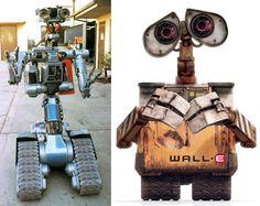 Short Circuit/Wall-E....Separated at birth?