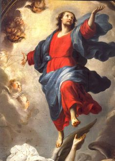 13 May – The Solemnity of the Ascension of the Lord We, the members of Christ's body, ascended to heaven with the Lord, through love…. a Sermon by St Father and Doctor of Grace , delivered on the Solemnity of the Ascension of our Lord Ascension Of Jesus, Divine Mercy Chaplet, Book Of Common Prayer, Religion Catolica, Let Us Pray, All Souls, Francis Of Assisi, Jesus Cristo, Holy Spirit
