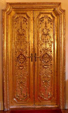 Door at Ca d'Zan ~ Residence of John Ringling of Circus fame in Sarasota, Florida.