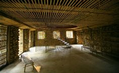 Suoi Re Village Community House, Suoi Re village, Luong Son, Hoa Binh province, Vietnam - 1+1 MAGGIORE 2 #bamboo